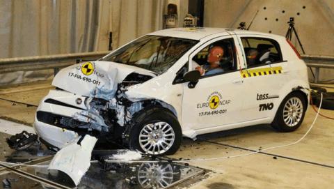 Fiat Punto 2017 obtiene 0 estrellas seguridad Euro NCAP
