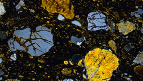 Restos extraterrestres meteoritos Escocia