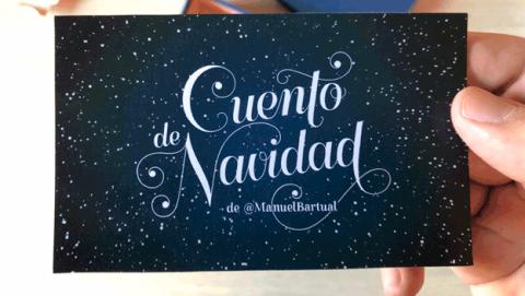 Cuento Navidad Manuel Bartual Twitter
