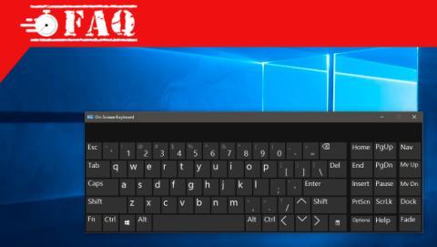 Cómo poner el teclado en la pantalla de Windows 10.