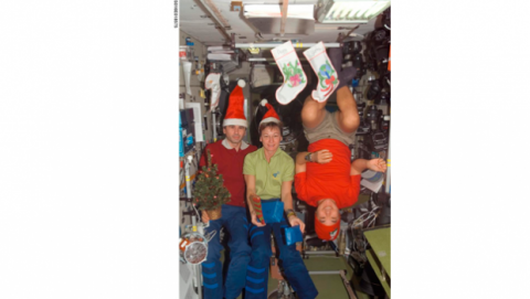 Decoración Navidad NASA