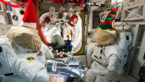 Celebración Navidad NASA