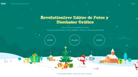 Crear felicitaciones Navidad personalizadas