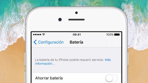 Cómo saber si necesitas cambiar la batería del iPhone.