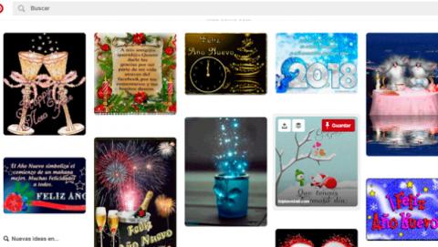 Felicitaciones Navidad plantillas Pinterest
