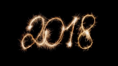 Mejores imágenes con frases para felicitar Fin de Año y Año Nuevo 2018.