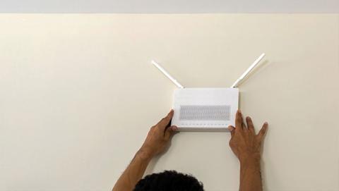 Alejar el router del resto de dispositivos mejora la cobertura Wi-Fi