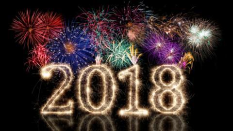 Felicitaciones De Año Nuevo 2018 Fin De Año Y Navidad