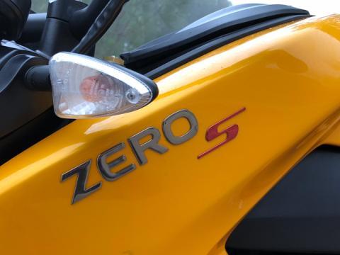 La moto eléctrica de Zero