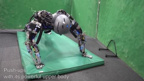 Kengoro y Kenshiro, los robots que sudan cuando hacen ejercicio