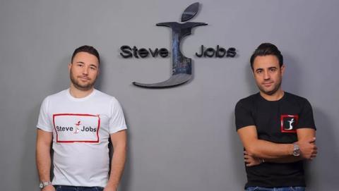 Steve Jobs, la marca italiana que venció a Apple