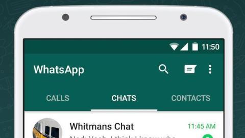 Contactos en WhatsApp