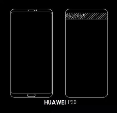 Huawei P20 - triple cámara