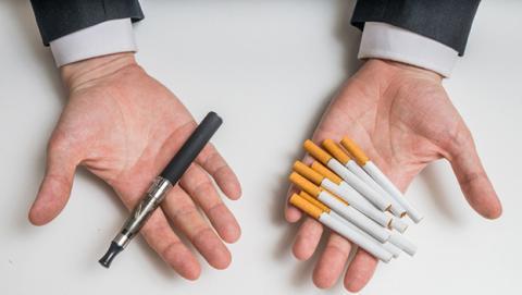 vapear fumar