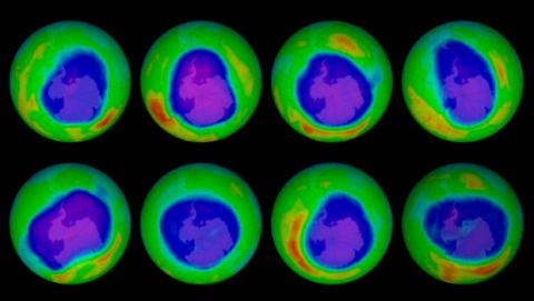 Reducción agujero capa de ozono
