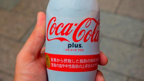 Japón asegura que beber Coca-Cola Plus es bueno para la salud