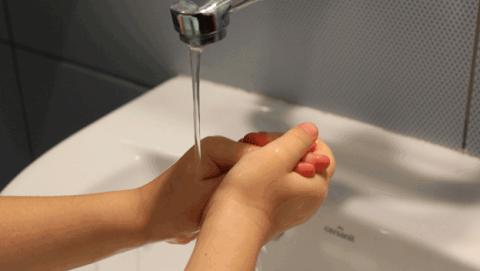 como lavarse las manos de manera correcta