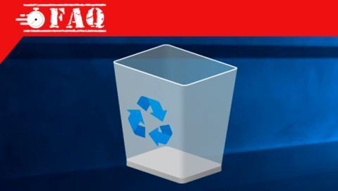 Cómo crear un acceso directo a la Papelera de Reciclaje en Windows 10.
