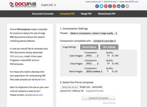 DocuPub compresor PDF