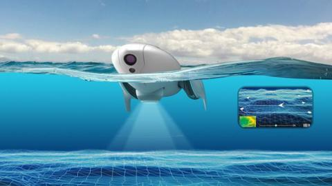 Drone acuático