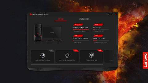 Lenovo Legion Y920 Tower, Nerve Center