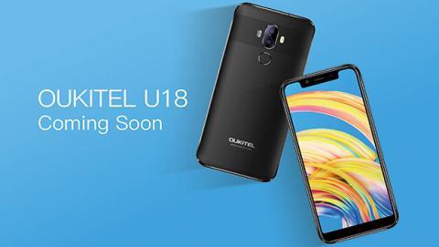 Oukitel U18, las pantallas ultrapanorámicas llegan a los móviles