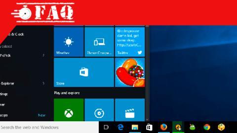 Anclar programa a la barra de tareas de Windows 10.