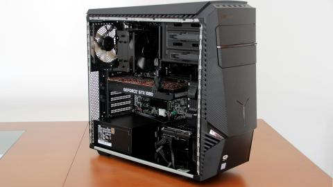 Interior del Lenovo Legion Y920 Tower