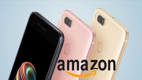 Xiaomi Mi A1 en Amazon