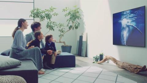 distancia ver tv