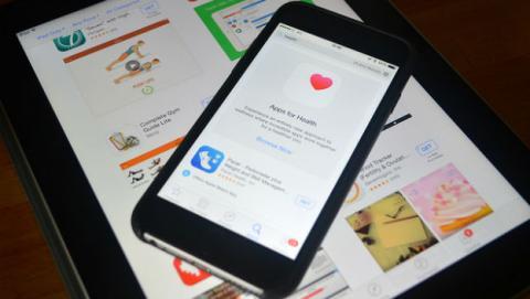 Aplicación de salud del iPhone.