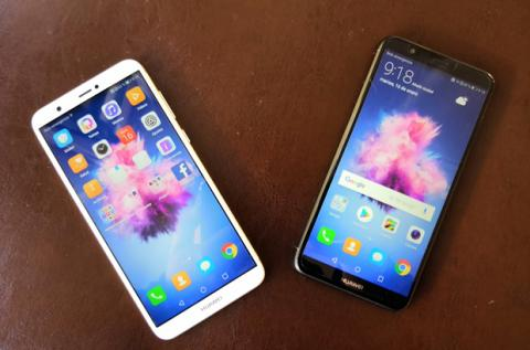 Los dos colores en los que llega el nuevo Huawei Smart: blanco y negro