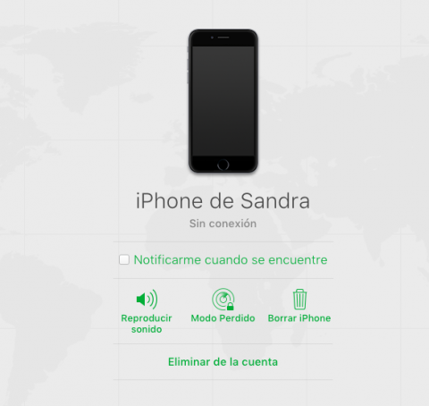 Encontrar iPhone robado