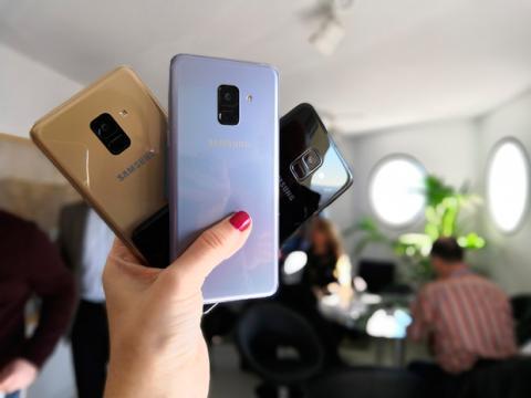 Los colores en los que podrás comprar el Samsung Galaxy A8 2018