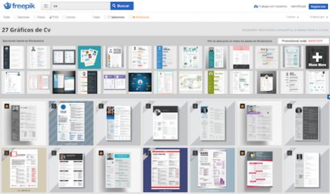 mejores webs con plantillas de curriculum vitae en word y más