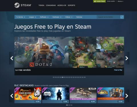 Juegos gratis Steam