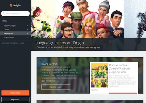 Origin juegos gratis