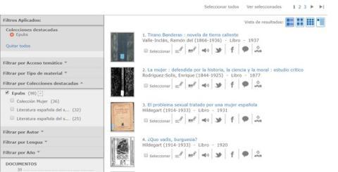 Ya puedes descargar en ePub libros de la Biblioteca Nacional de España