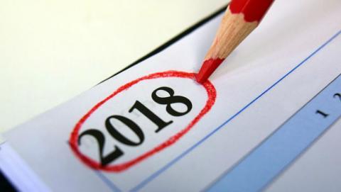 Plantillas de calendario gratis de 2018 para descargar.