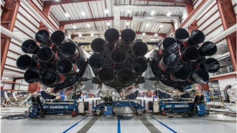 Motores Falcon Heavy