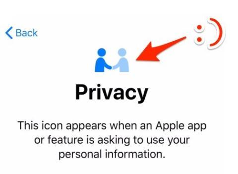 icono privacidad apple