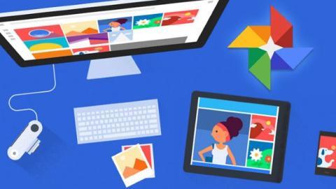 Google Fotos, para guardar fotos y vídeo en la nube.
