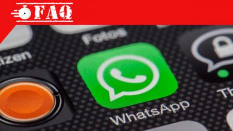 Guardar mensaje de WhatsApp.