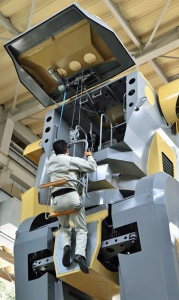 El robot más grande del mundo es tan alto como Mazinger Z
