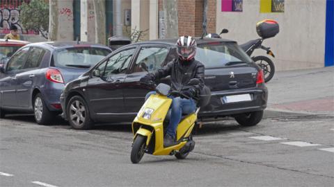 La scooter eléctrica Lifan E3