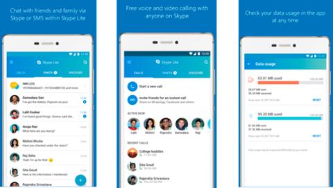 Skype Lite para Android