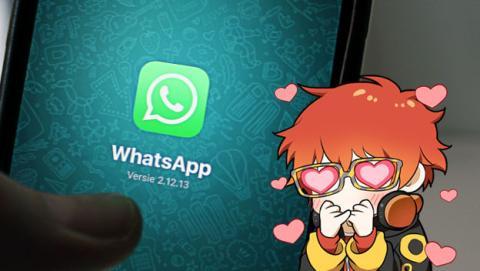 Stickers de WhatsApp.