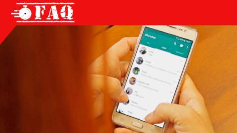 Marcar como favorito un chat de WhatsApp.