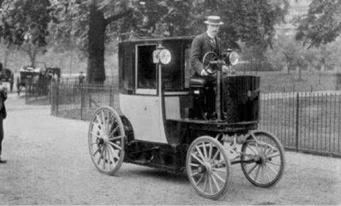 Taxi eléctrico en Londres