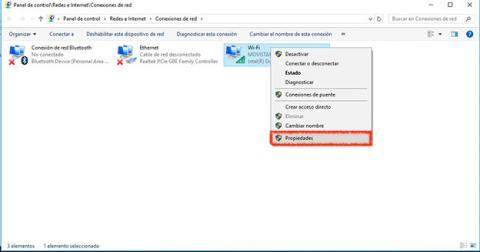 Cambiar DNS en Windows 10